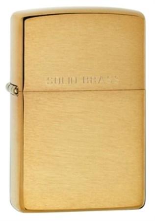 Широкая зажигалка Zippo Classic 204 - фото 4525