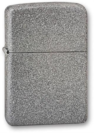 Широкая зажигалка Zippo Iron Stone 211 - фото 4552