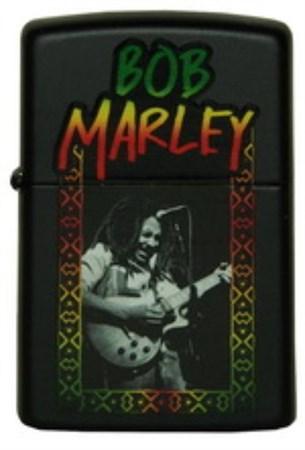 Широкая зажигалка Zippo Bob Marley 218 (Cl012529) - фото 4558