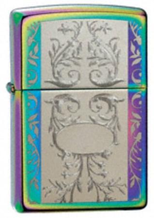 Широкая зажигалка Zippo Engraved Filigree 24203 - фото 4579