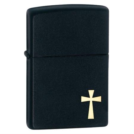 Широкая зажигалка Zippo Holy Cross 24721 - фото 4589