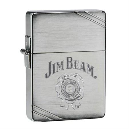 Широкая зажигалка Zippo Jim Beam 28070 - фото 4635