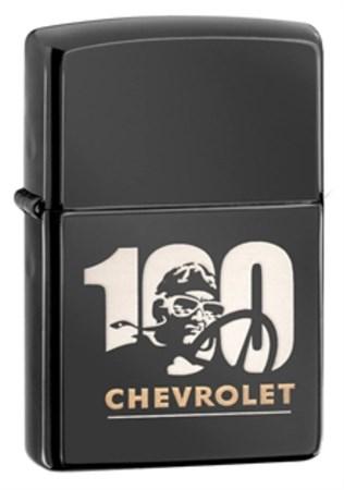 Широкая зажигалка Zippo Chevy 28195 - фото 4645
