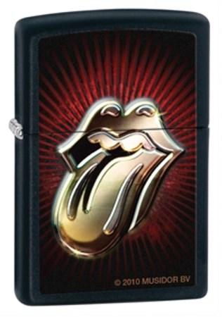 Широкая зажигалка Zippo Rolling Stones 28253 - фото 4647