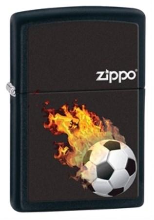 Широкая зажигалка Zippo 28302 - фото 4667