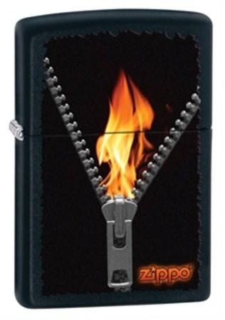 Широкая зажигалка Zippo 28309 - фото 4671