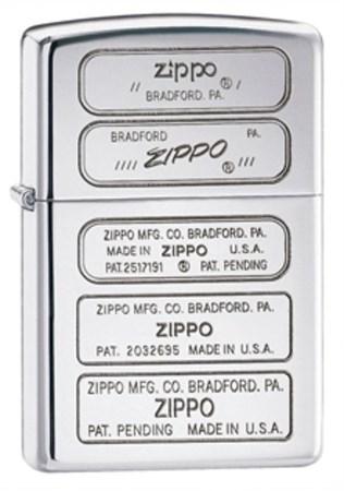 Широкая зажигалка Zippo 28381 - фото 4694