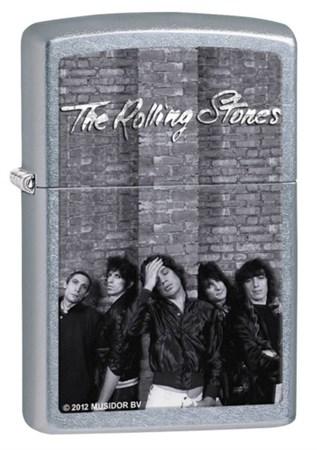 Широкая зажигалка Zippo Rolling Stones 28428 - фото 4697