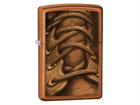 Широкая зажигалка Zippo Boot Laces 28672 - фото 4748