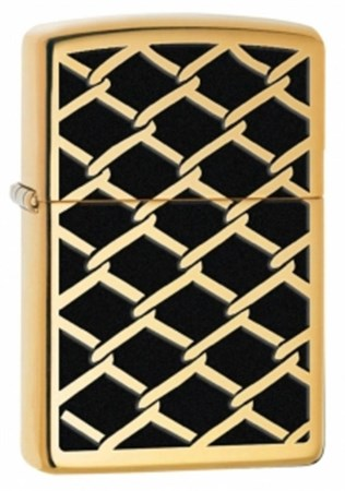 Широкая зажигалка Zippo Fence Design 28675 - фото 4750
