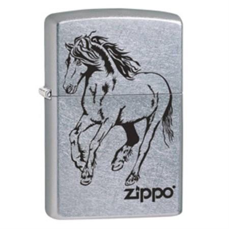 Широкая зажигалка Zippo Horse 28775 - фото 4759