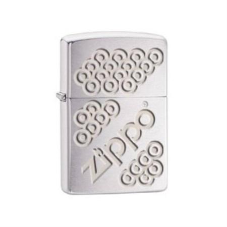 Широкая зажигалка Zippo Circles 28784 - фото 4761