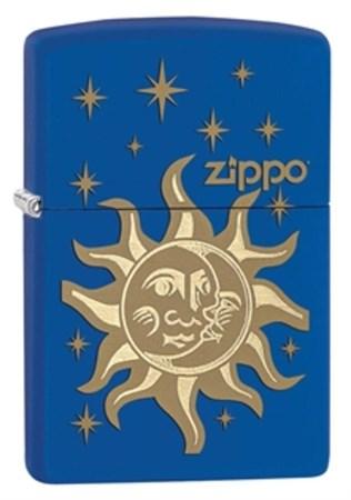 Широкая зажигалка Zippo Sun & Moon 28791 - фото 4764