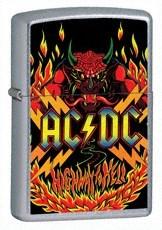 Широкая зажигалка Zippo ACDc Highway 24280 - фото 4816