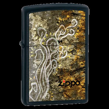Широкая зажигалка Zippo Flavor Of The Sun 24808 - фото 4880