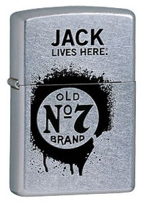 Широкая зажигалка Zippo Jack Daniel's 24536 - фото 4904