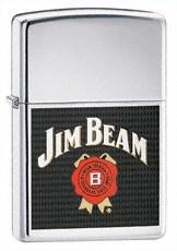 Широкая зажигалка Zippo Jim Beam 24552 - фото 4909