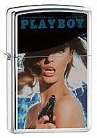 Широкая зажигалка Zippo Playbox 20952 - фото 4938