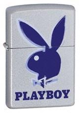 Широкая зажигалка Zippo Playboy 3-d 21020 - фото 4939