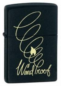 Широкая зажигалка Zippo Windproof 24481 - фото 4977