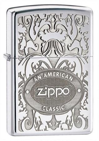 Широкая зажигалка Zippo American Classic 24751 - фото 4986