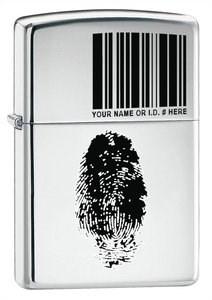 Широкая зажигалка Zippo Finger 20836 - фото 5069