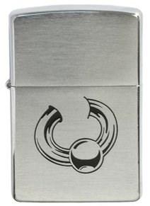 Широкая зажигалка Zippo Body jewelry 200 - фото 5089