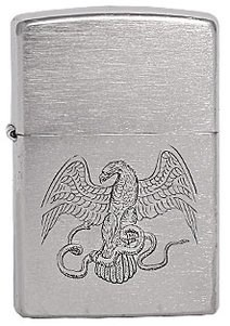 Широкая зажигалка Zippo Eagle & snake 200 - фото 5103