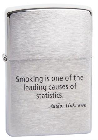 Широкая зажигалка Zippo Smoking.. 200 - фото 5143