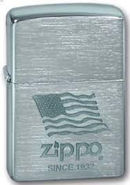 Широкая зажигалка Zippo Zippo Flag 200 - фото 5169