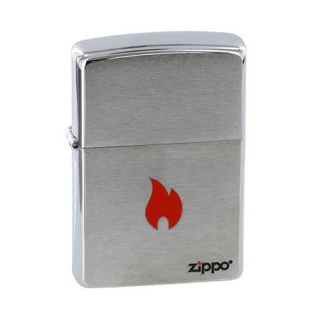 Широкая зажигалка Zippo Zippo Flame 200 - фото 5171