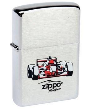 Широкая зажигалка Zippo Zippo Race Car 200 - фото 5179