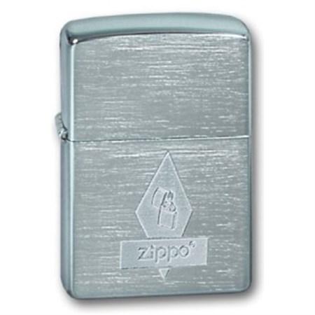 Широкая зажигалка Zippo Zippo romb 200 - фото 5181