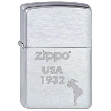 Широкая зажигалка Zippo Zippo USA 1932 200 - фото 5183