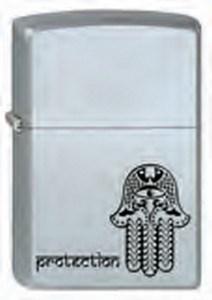 Широкая зажигалка Zippo Protection 205 - фото 5286