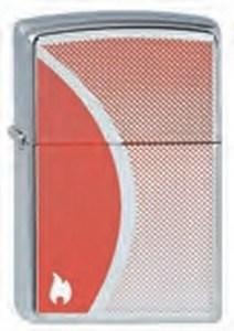 Широкая зажигалка Zippo Shadow Gradient 205 - фото 5292