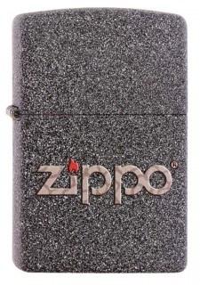Широкая зажигалка Zippo Logo 211 - фото 5418