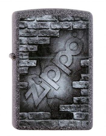 Широкая зажигалка Zippo Zippo bricks 211 - фото 5426