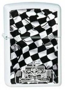 Широкая зажигалка Zippo Race Car 214 - фото 5444