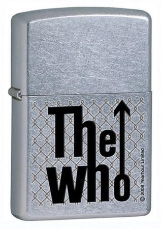 Широкая зажигалка Zippo The who 24558 - фото 5616