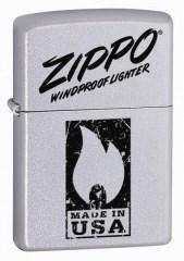 Широкая зажигалка Zippo Windproof 24918 - фото 5672