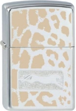 Широкая зажигалка Zippo Cheetah Skin 258 - фото 5708