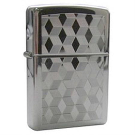 Широкая зажигалка Zippo Cubes 262 - фото 5716