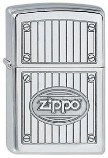 Широкая зажигалка Zippo MTL 283 - фото 5756