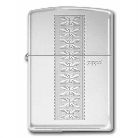 Широкая зажигалка Zippo Pattern VIII 291 - фото 5772