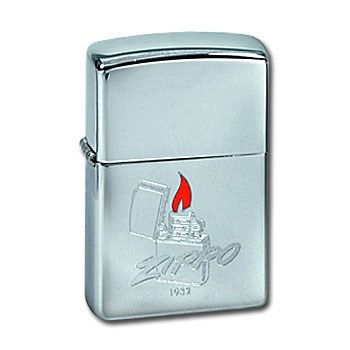 Широкая зажигалка Zippo since 1932 295 - фото 5780