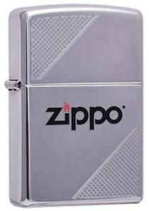 Широкая зажигалка Zippo Corners 313 - фото 5812