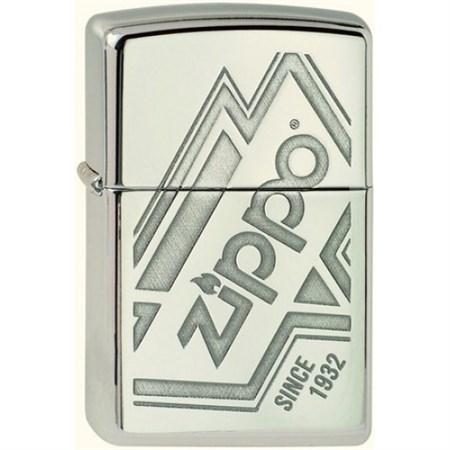 Широкая зажигалка Zippo Logo 319 - фото 5824
