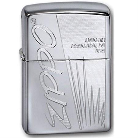 Широкая зажигалка Zippo Made in.. 320 - фото 5826