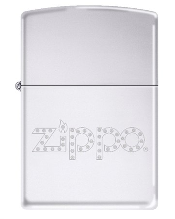 Широкая зажигалка Zippo with Diamonds 325 - фото 5836